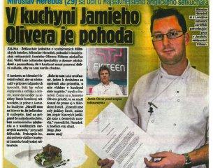 V kuchyni Jamieho Olivera